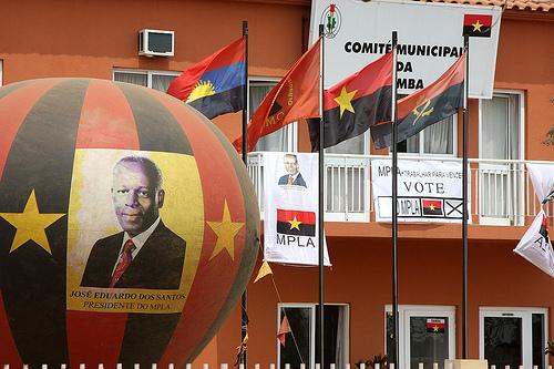 Il Municipio di Samba, governato dal MPLA, durante la campagna elettorale