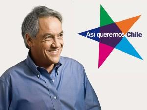 Símbolo da campanha de Sebastián Piñera - do Comando de Sebastián Piñera e usado sob licença Crative Commons