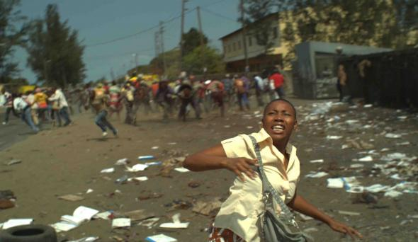 "Image from the motion picture Mahla, by Mozambicans Mickey Fonseca and Pipas Forjaz, in the Buala blog ""Dá Fala"" (Giving Voice, pt), on African contemporary culture"