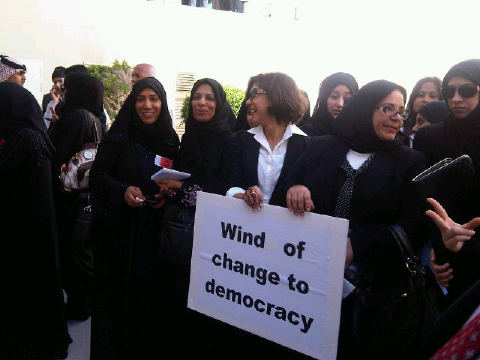 Wind of change to democracy
