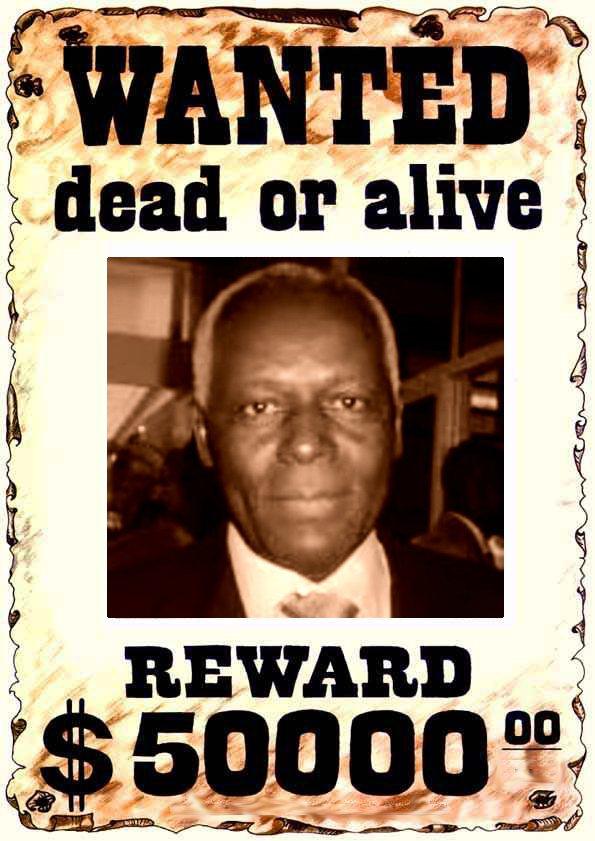 José Eduardo dos Santos - Wanted dead or alive