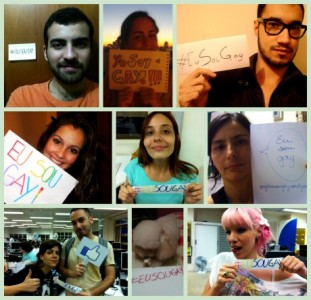 Image from the blog of the project Eu Sou Gay (I Am Gay)