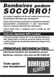 Red Rio Flyer featuring the main claims, on Flickr by Deputado Estadual Marcelo Freixo PSOL-RJ (CC BY 2.0)