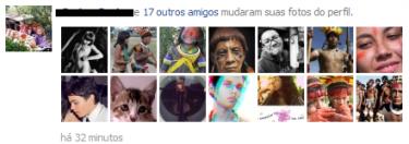 Usuários do Facebook mudam fotos do perfil para índios do Xingu