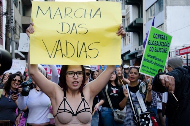 SlutWalk, São Paulo. Bild von Marcel Maia auf Flickr (CC BY-NC-SA 2.0)