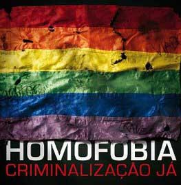 """Criminalize Homophobia"". Image under free use."