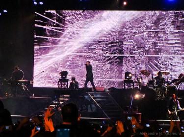 Show do Linkin Park no Festival SWU em 2010. Foto de Alexandre H. Kitamura (CC BY-NC-SA 2.0)