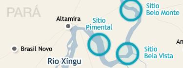 Infográfico com informações básicas a respeito da usina de Belo Monte, por Parsifal Pontes (abril de 2010).