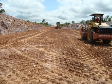 Obras na rodovia BR 158, no Mato Grosso. Foto por minpanplac. (CC BY-NC-SA 2.0)