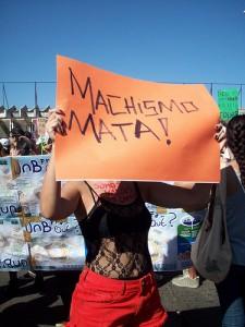 """Machismo Kills"", Slut Walk, Brasilia 2011. Photo by Bianca Cardoso on Flickr (CC BY-NC-ND 2.0)"