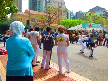 Capoeira in Beirut, the Lebanese group that founded the school
