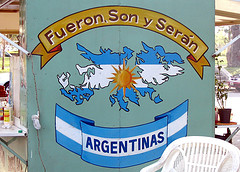 """They were, are and will be Argentine"". Photo by Brian Allen on Flickr (CC BY 2.0)"