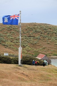 Falkland Islands Flag. Photo by Liam Quinn on Flickr (CC BY-SA 2.0)