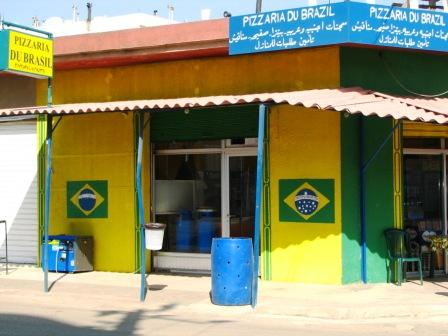 A bit of Brazil in Sultan Yakoub. Photo: Renata Malkes (used with permission).