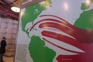 %31.3 من العبيد الأفارقة نقلوا إلى البرازيل.رفع هوليوودسمايل78 هذه الصورة على فليكر (تحت رخصة المشاع الإبداعي)