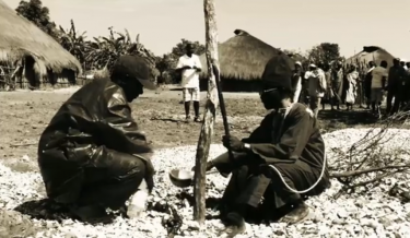 Screenshot of the documentary Kilombos.