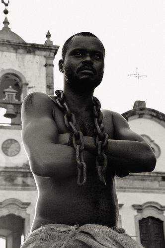 প্যারাতির দাস, অ্যান্ডারসন- ব্রাজিলের একমাত্র জীবন্ত দাসমূর্তি।