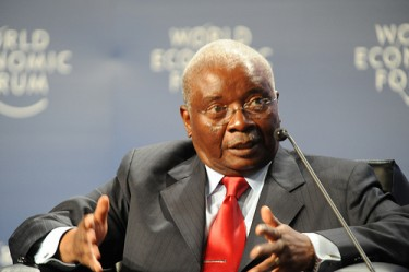 Presidente Armando Guebuza. Foto de World Economic Forum no Flickr (CC BY-SA 2.0)