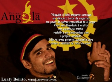 Luaty Beirão. Image by Omunga association shared on the blog of Central Angola 7311