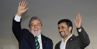 Visit of the President of Iran, Mahmoud Ahmadinejad to Brazil, 2009. Photo from the Ministry of Foreign Relations in Brazil (CC BY-NC-SA 2.0)