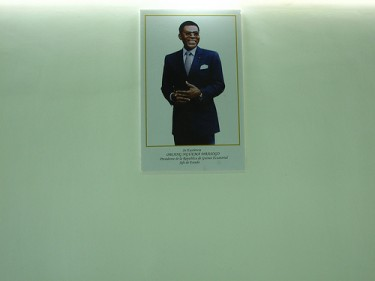 President Obiang. Equatorial Guinea Pavilion at the Shanghai Expo 2010. Photo by nozomiiql on Flickr (CC BY-NC-SA 20.0)