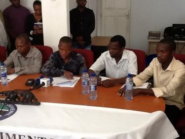 Estudantes expulsos do Sudão