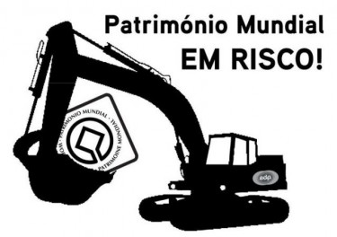 "Image shared on the Facebook page ""Eu não pedi um Plano Nacional de Barragens"" (I did not ask for a National Dam Plan)"