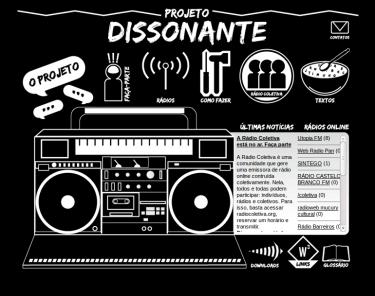 O projeto Rádio Dissonante vai organizar uma oficina sobre a criação e manutenção de rádios coletivas online.