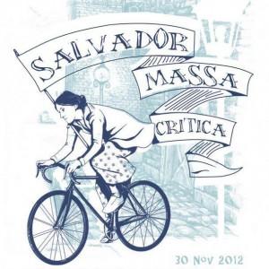 Imagem da página de Facebook Bicicletada Salvador Massa Crítica (com 5.302 likes)