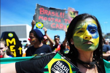IV Brazil Marching Against Corruption. Photo of the Brazil Movement Against Corruption. (CC BY-NC-SA 2.0)