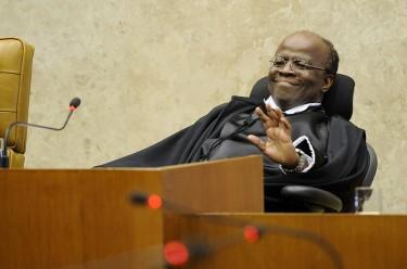 Cérémonie de la prise de fonction du président de la Cour Suprême Joaquim Barbosa. Photo de l'Agência Senado. (CC BY-NC 2.0)