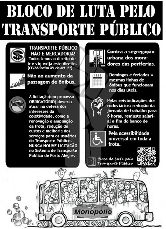 """""""Por que lutamos! Não pago, não pagaria, transporte não é mercadoria! http://twitpic.com/bxfb05 """""""
