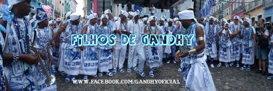 Image of Filhos de Gandy from Facebook (used with permission)