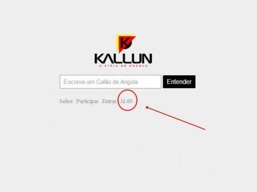 """""""Kallun"""". Foto partilhada na página do Fundador da Plataforma, Leocarpo Mário."""