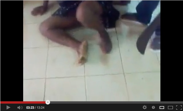 Warning: graphic images. Video shared by ClubKnet on Youtube.