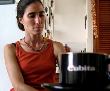 Yoani Sánchez consiguió la autorización para salir de Cuba (Foto: Andre Deak, en Flickr)