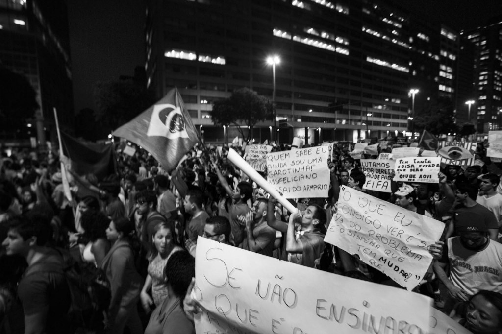 Protest in Rio, June 20