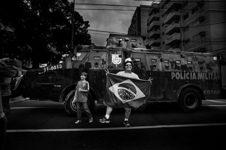 Photo by Calé Merege on Facebook (used with permission).