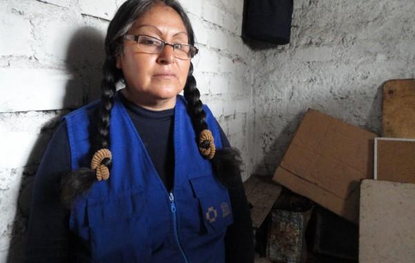 Estequilla Rosales, vice-presidenta da Associação Kapaq Suma Ayllu. Foto: Jessica Mota / Agência Pública