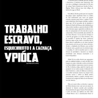 Texto do professor e quadrinista Marcelo D'Salete: Trabalho escravo, esquecimento e a cachaça Ypióca.