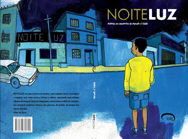 Capa de NoiteLuz, outra publicação de Marcelo D´Salete. Imagem utilizada com permissão.