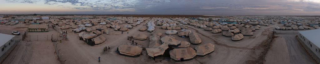 Za'atari refugee camp in Jordan, November 2012. Photo from UNHCR on Flickr (CC BY-NC 2.0)