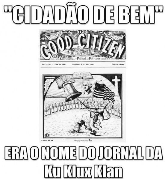 Montagem do ativista Julio Ferreira
