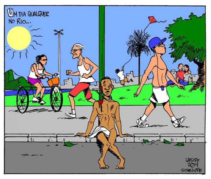 Cartum de Carlos Latuff, uso livre.
