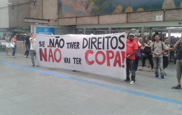 """""""Se não tiver direitos, não vai ter Copa!"""""""