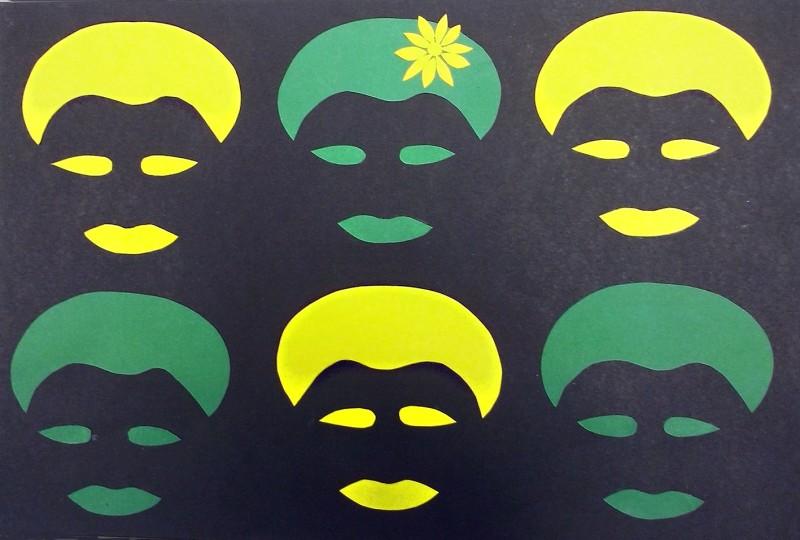 Imagem do grupo da professora Cristiane Schifelbein e alunos, por Lethycia, enviada ao projeto 100 Vezes Cláudia da Think Olga