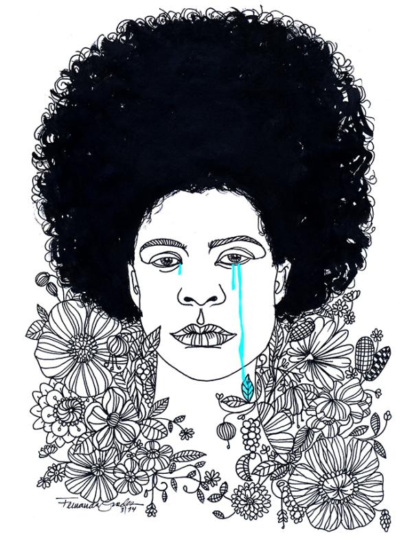 Imagem por Fernanda Guedes e enviada ao projeto 100 Vezes Cláudia da Think Olga