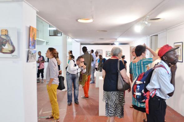 Inauguração da exposição dia 12 de Março 2014. Foto de Yassmin Forte