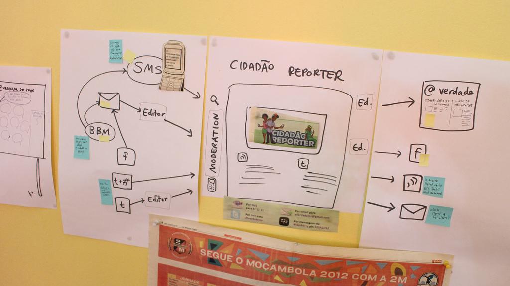 Cidadão-repórter, Jornal @Verdade . Foto de Sourcefabric no Flickr (CC BY-NC-SA 2.0)