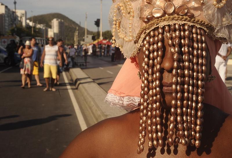Marcha pela tolerância religiosa na praia de Copacabana, Rio de Janeiro (8 de setembro de 2013). Foto de Fábio Teixeira copyright Demotix.
